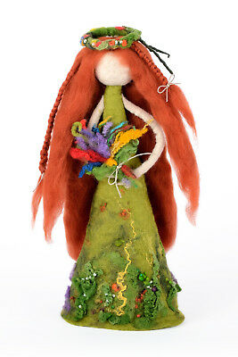 Декоративные фигуры Forest fairy figurine, meadow