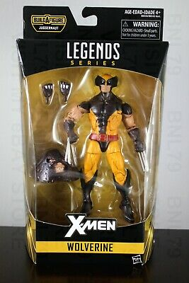WOLVERINE XMen Marvel Legends 2016 Juggernaut BAF head Jim Lee Brown Costume NIB