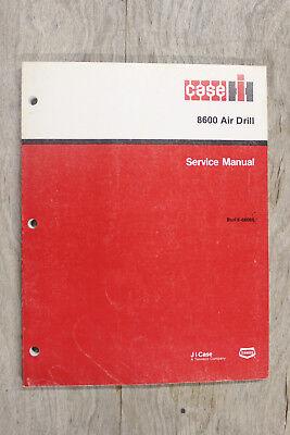Case-ih 8600 Disc Air Drill Original Service Manual 8-66060