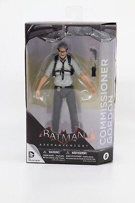 DC BATMAN COMMISSIONER GORDON  EXCLUSIVE ACTION FIGURE