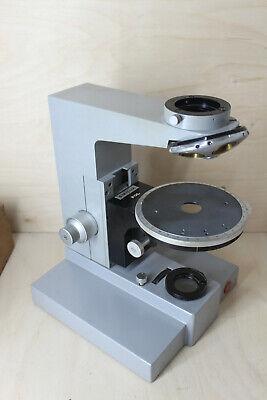 Leitz Wetzlar Microscope Polarising Table Sm Lux Pol Stand Nosepiece Stativ