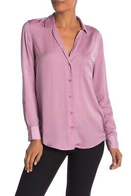 NWT $230 EQUIPMENT Keira Long Sleeve Button Shirt 18-4-005129-E313P S