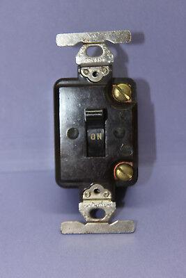 Vintage Bryant Industrial Heavy Duty Bakelite Single-pole Toggle Switch 20a250v