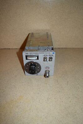 Ss Hewlett Packard Hp 5255a Frequency Converter 3-12.4 Ghz