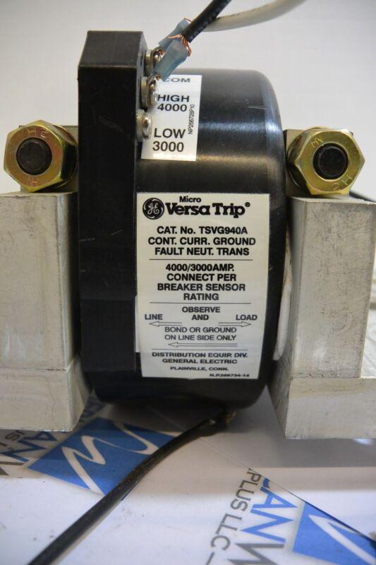 GE General Electric Micro Versa Trip TSVG940A GE Neutral Sensor 3000/4000A ~GOOD