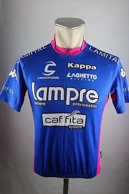 475df6ded Lampre Caffita Team Kappa Radtrikot 2005 Gr. M 50cm Bike cycling jersey  Shirt F6