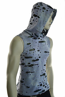 SHRINE DECAYED ROCK GOTHIC CYBER PUNK G GOTH MAD MAX SHIRT HOODIE ZOMBIE Activewear