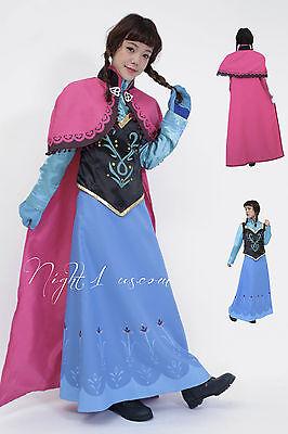 Princess Anna Costume Adults (Adult Frozen Inspired Princess Anna Halloween)