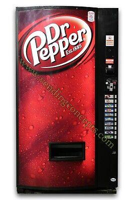 Vendo 721 10 Select Drink Vending Machine Dp Logo