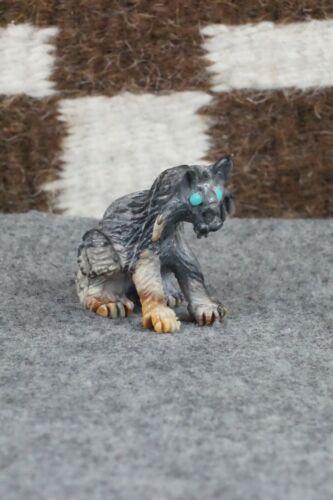 Bobcat Zuni Fetish Carving - Bernard Laiwakete