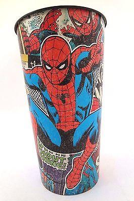 Spider Man Stadium Cup - Marvel The Amazing Spider-Man 32oz Huge Reusable Stadium Plastic 7