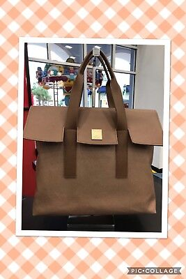Tanger Outlets Large Shopping Tote Purse Bag, NWT tan