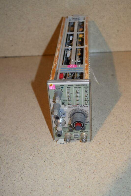 ^^ TEKTRONIX 7B92 DUAL TIME BASE PLUG-IN  (TP1031)