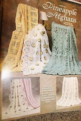Needlecraft Shop Crochet 981033 Pineapple Afghans -