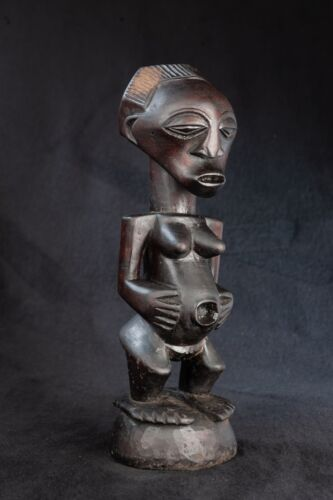 Songye Figure, Democratic Republic of Congo, Central African Tribal Art.