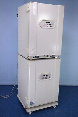 Sanyo Mco-18aic Co2 Incubator Dual Double Stack Co2 Incubator Tested W Warranty