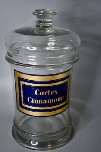 19th Century French Apothecary Jar