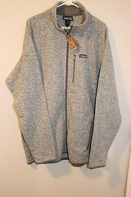 Patagonia Better Sweater Full Zip Men's Fleece Jacket in Stonewash -