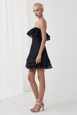 KEEPSAKE the Label Float Mini Dress in Navy, $178 NWT, Small, Revolve