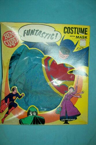 1976 Superman Halloween Costume by Ben Cooper (Body Suit & Cape)