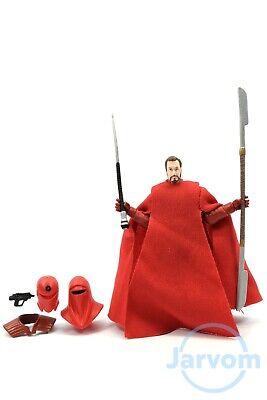 "Star Wars The Black Series 3.75"" Walmart Emperor's Royal Guard Loose Complete"