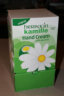 BRAND NEW Herbacin Kamille with Glycerine Hand Cream 1.0 oz Tubes (Box of 40)