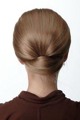 t Halbperücke Haaraufsatz 50er 60er Turmfrisur Dunkelblond (50er Damen Frisuren)