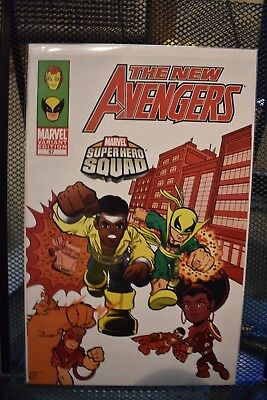 Super Heroes Squad Show (The New Avengers #57 Super Hero Squad TV Show Variant Marvel Comics 2009)
