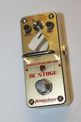 Tomsline AAS-3 AC Stage, Acoustic Guitar Simulator Pedal - Needs Repair #R3239
