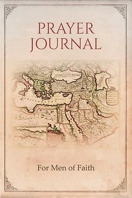 Prayer Journal:  For Men of Faith / Bible Study Notebook Journal Gifts Men - Prayer Notebook