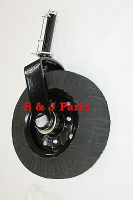 Heavy Duty Tail Wheel Assembly Bush Hog Land Pride Rhino Woods 1 12 Yoke