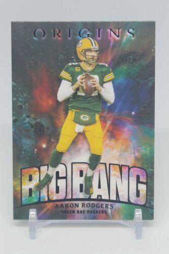 2021 Panini Origins AARON RODGERS Big Bang Case Hit Insert SSP Packers #BB-3