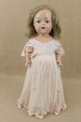 "16"" vintage composition Madame Alexander Princess Elizabeth Doll w tagged dress"