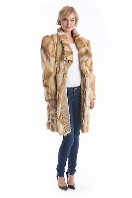 Coyote Coat Pieces Style Fur Fashion Fur Paletot Luxury 42 - 44 for шуба