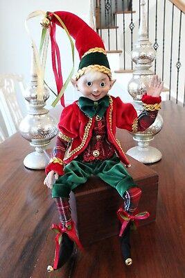 Elf Raz Imports Elf Christmas Poseable 20