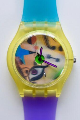 Illuminati Eye watch - Retro 80s vintage style designer watch