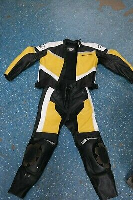 Joe Rocket 42 Motorcycle 1 Piece Leather Race Racing Motorcycle Suit Joe Rocket Racing Leathers