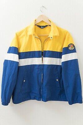 Vintage Polo Ralph Lauren Cookie Patch Jacket 1992 93 80's P Wing Stadium Medium