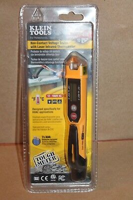 Klein Tools Non-contact Voltage Tester W Laser Infared Thermometer Ncvt-4ir