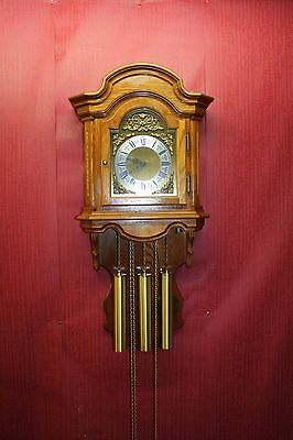 ***Antique & Beautiful Westminster Wall Clock 3weights *HERMLE* - FHS**