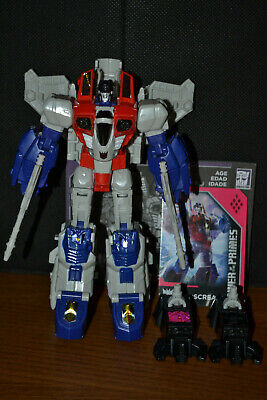 Transformers Power of the Primes Voyager Class Decepticon Starscream - Complete
