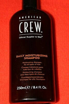 250ml AMERICAN CREW DAILY MOISTURIZING SHAMPOO neu unbenutzt  - American Crew Daily Moisturizing Shampoo