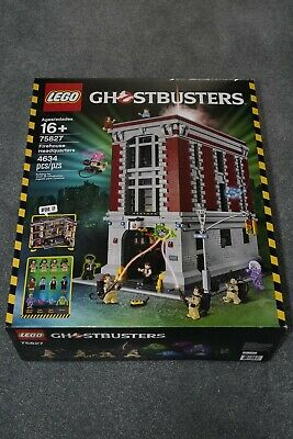 New in Sealed Box! Retired Lego 75827 Ghostbusters Firehouse Headquarters Set