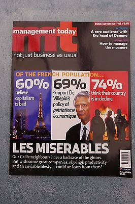Management Today Magazine: August 2006, France