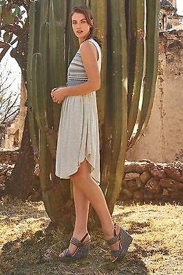 8fe2e5e2b3abd NWT ANTHROPOLOGIE Sabado Dress by Dolan Left Coast, L, XL, Grey, Retail