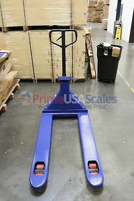5 Year Warranty Pallet Jack Scale With Built-in Scale 3500 X 1 Lb Capacity