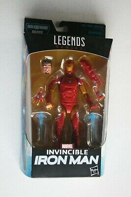 Marvel Legends Figure, Invincible Iron Man, Build-A-Figure, Okoye, 2017