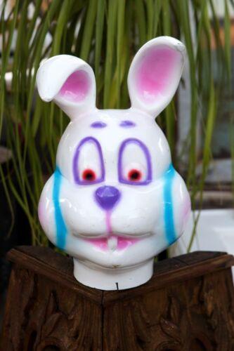 Vintage Heavy Fiberglass Carousel Carnival Rabbit Bunny Head Pop Art Easter