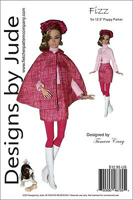 Fizz Doll Clothes Sewing Pattern 12.5