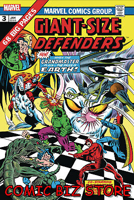 GIANT-SIZE DEFENDERS #1 (2019) 1ST PRINTING FACSIMILE EDITION MARVEL ($4.99)